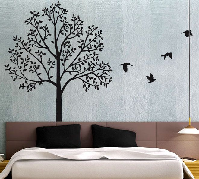 30 beautiful wall art ideas and diy wall paintings for for Diy mural painting