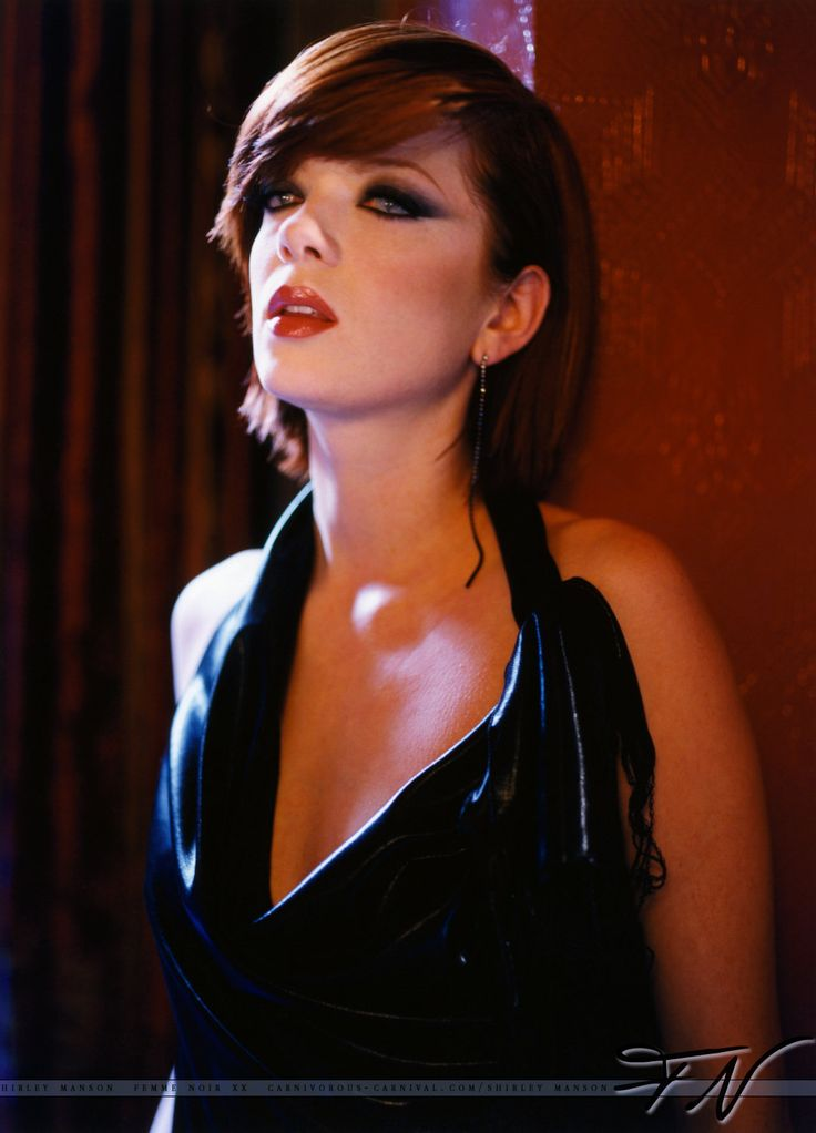 Shirley Manson, of the band Garbage soo hot!!!