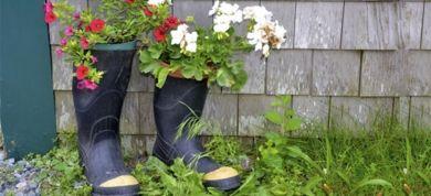 Φτιάξτε μόνοι σας τα πιο όμορφα γλαστράκια για τον κήπο!
