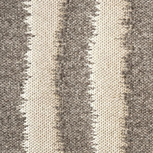 Awesome Plough Wool And Linen Rug In The Stone Colorway, Part Of The Celerie Kemble  By