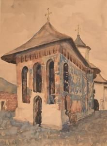 Maria I. Brates Pillat - Biserică În Moldova
