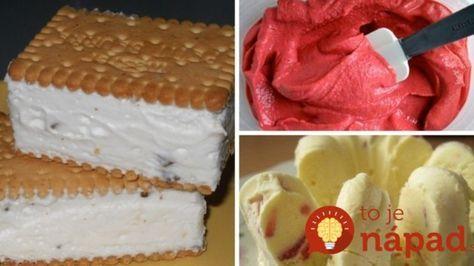 11 top receptov na domácu zmrzlinu, ktorú viete pripraviť rýchlo a nepotrebujete ani zmrzlinovač!