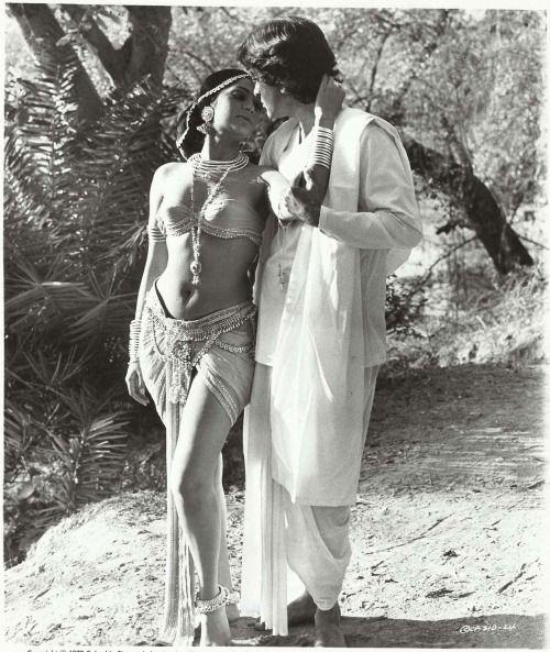 "yungzeenat: ""Simi Garewal & Shashi Kapoor Siddhartha (1972) """