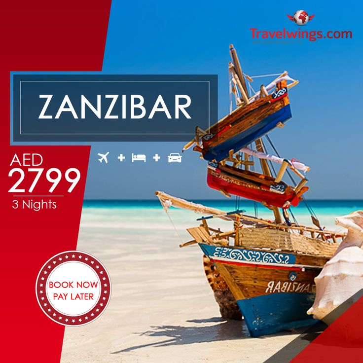 Planning to visit the fascinating world of adventures? Zanzibar got you covered! Enjoy an all-inclusive package for an awesome price! http://www.travelwings.com/special-offers/zanzibar-holiday-package.aspx