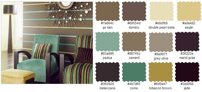 Creative Living Rooms For Style Inspiration Palette: Accented Neutral Colours With Interior Design Color