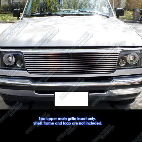 APS F85013A Polished Aluminum Billet Grille Replacement for select Ford Ranger Models. For product info go to:  https://www.caraccessoriesonlinemarket.com/aps-f85013a-polished-aluminum-billet-grille-replacement-for-select-ford-ranger-models/