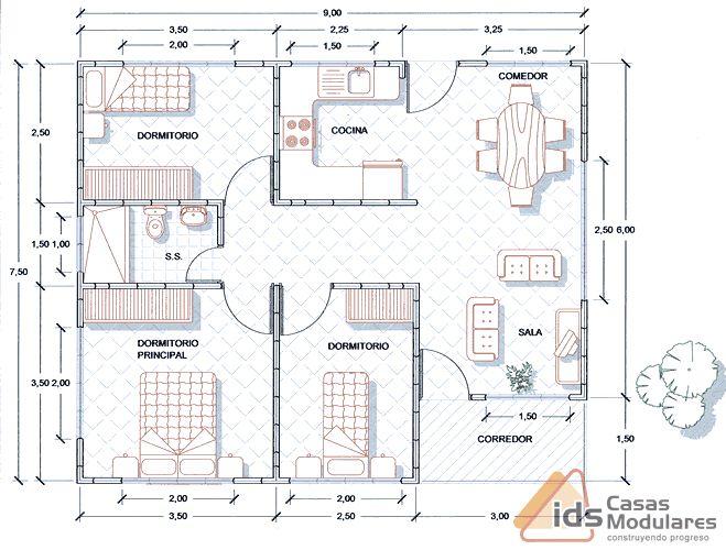 IDS Casas Modulares, Pu00e9rez Zeledu00f3n Costa Rica - Catu00e1logo de Casas ...