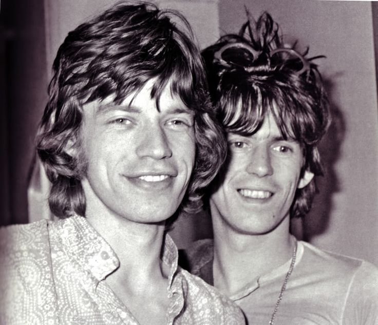 Best shot of the YOUNG Glimmer Twins!