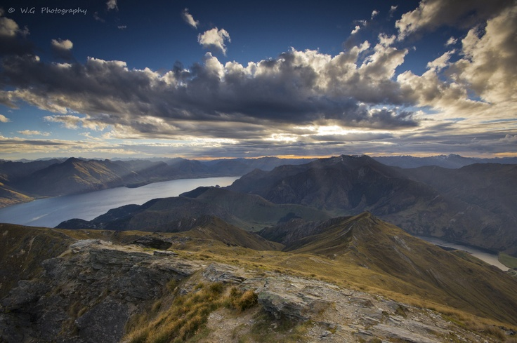 Ben Lomond Summit by Guillaume Weber, via 500px
