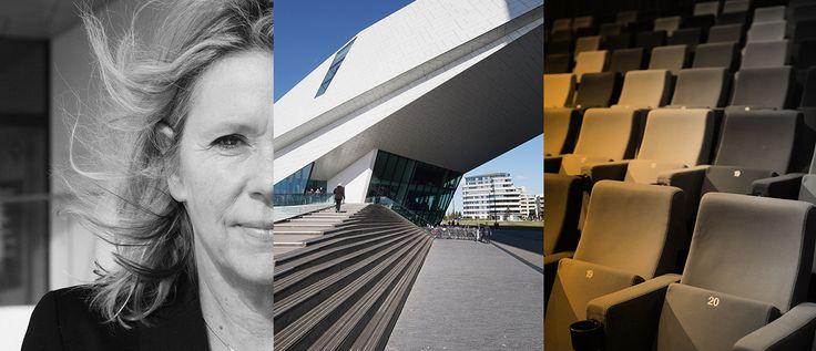 Wie van centraal station Amsterdam een blik werpt over 't IJ ziet meteen het iconische gebouw van EYE. Een plek waar je naar de film en filmische tentoonstellingen gaat, leert over de filmgeschiedenis of waar je mensen ontmoet.