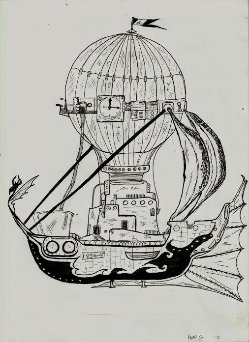 # steampunk # baloon #hot air balloon  #Flying ship   #hobby # https://plus.google.com/u/0/104282453841700267188/posts