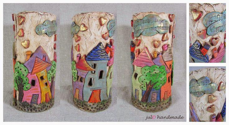 julD handmade: Χρώματα και παραμύθια από πηλό