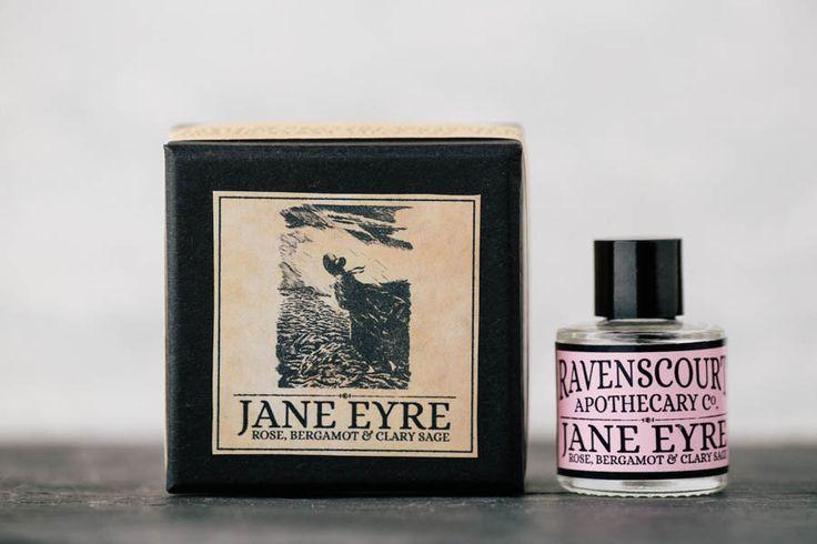 """Jane Eyre"" is a romantic union of the bashful rose, elegant bergamot and the subtle clary sage."" ~ Ravenscourt Apothecary"