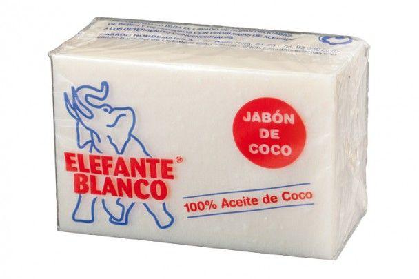 Elefante Blanco Jabón de Coco - especial para pieles con muchas alergias.