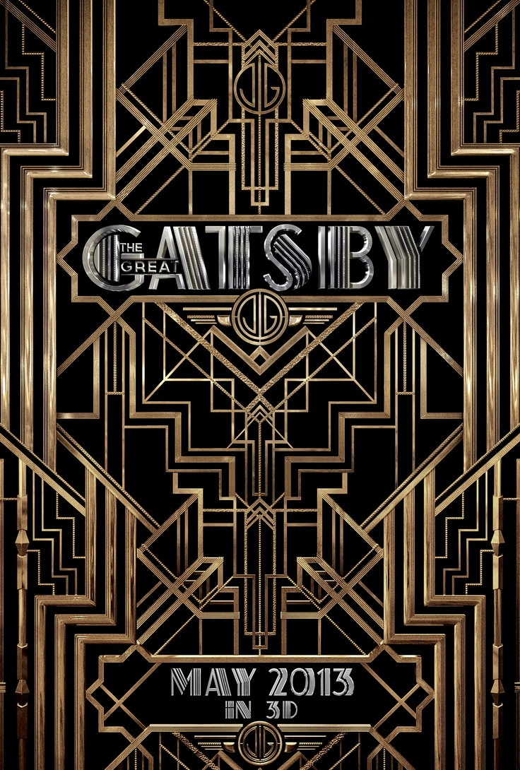 images about great gatsby poster art deco the great gatsby