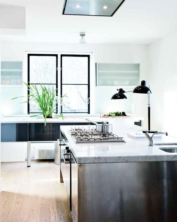 25 beste idee n over witte marmeren keuken op pinterest - Donkergrijs werkblad ...