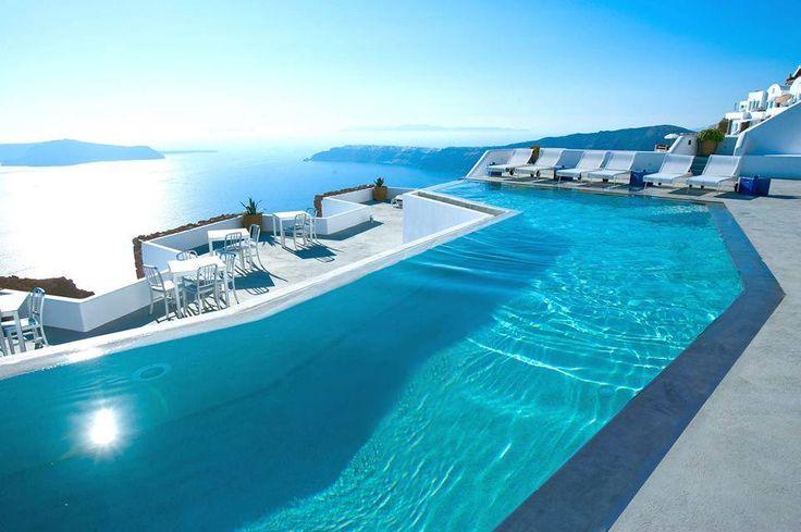 Grace Hotel in Santorini, Greece.