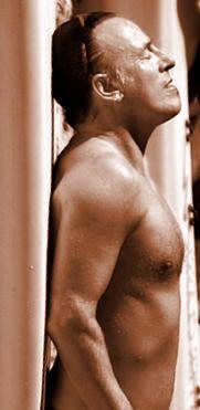 Shirtless Bruce …