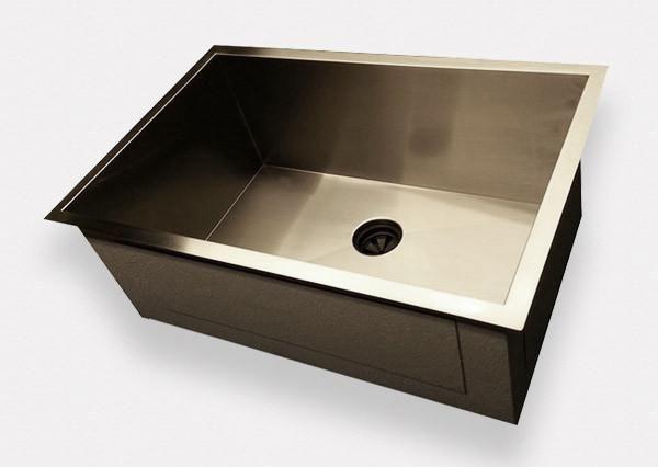 New Zero Radius Sink Wins The Kitchen Show New Design Eliminates The Dirty Seam Around