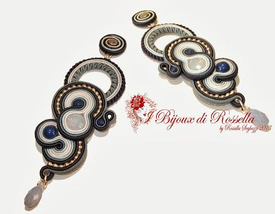 Rossella Seghezzi Design: Blue Night Earrings