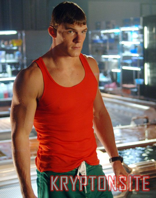 Aquaman on Smallville TV series. I loved watching smallville.Please check out my website thanks. www.photopix.co.nz
