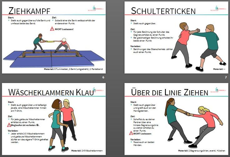 Gemeinsam kämpfen in der Schule! Hier gibt es  24 Stationskarten #sportunterricht #sportlehrer #sportlehrerin
