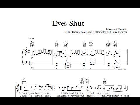 Eyes Shut - Years & Years [Sheet & Midi Download] #sheetmusic #midi #download #years&years #eyesshut Download here: http://goo.gl/KHls9C