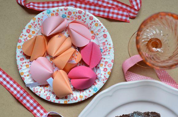 DIY : fortune cookies pour le Nouvel an chinois