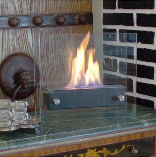 3 Great Places For Tabletop Fireplaces