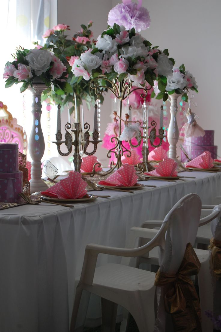 Wish Upon a Party - Ballerina Table Setting