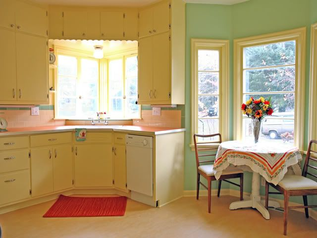 Miscellaneous : Vintage Style of the 1960's Kitchen ...
