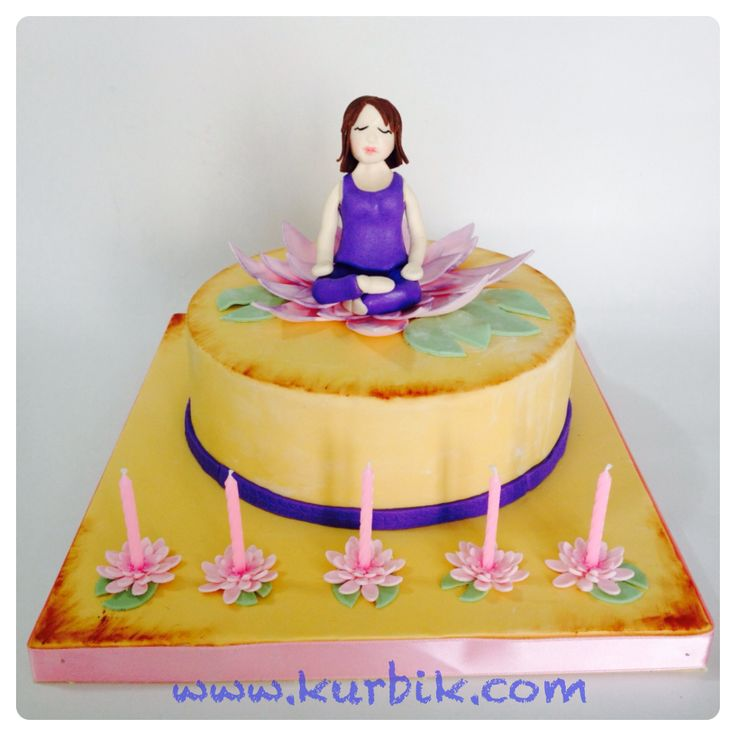 19 best images about Cake Design for Yoga theme on ...