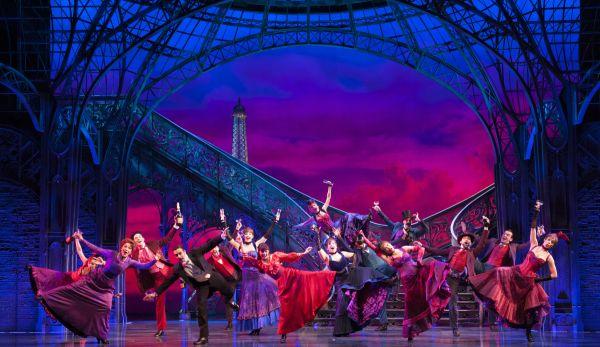 Vanessa Hudgens and the Broadway Cast of Gigi Take Over the Neil Simon Theatre - Photo Flash - Feb 24, 2015 - TheaterMania.com