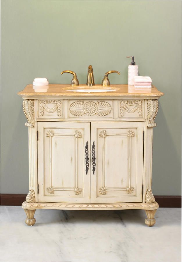 Casablanca Antique Bathroom Vanity LS-1013 by Virtu USA - 170 Best Single Antique Bathroom Vanities Images On Pinterest