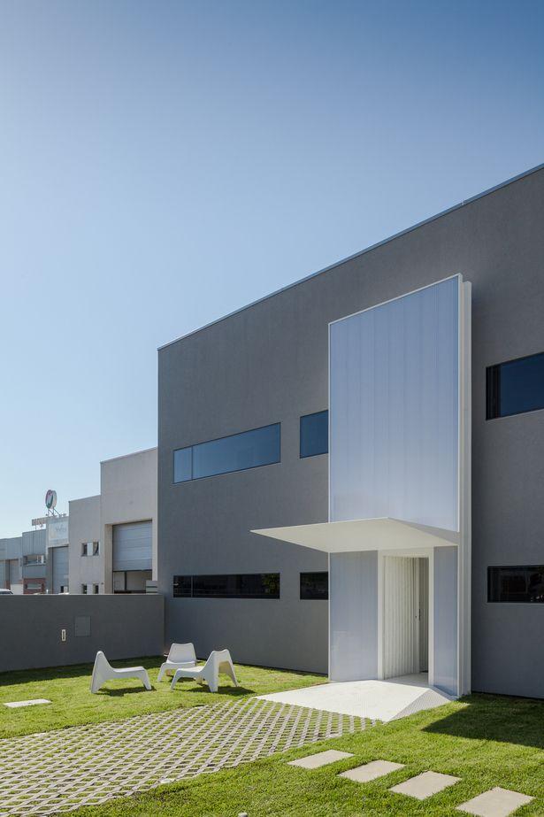 Controlar Headquarters | ADOFF + ZURCATNAS; Photo: Joao Morgado - Architecture Photography | Archinect