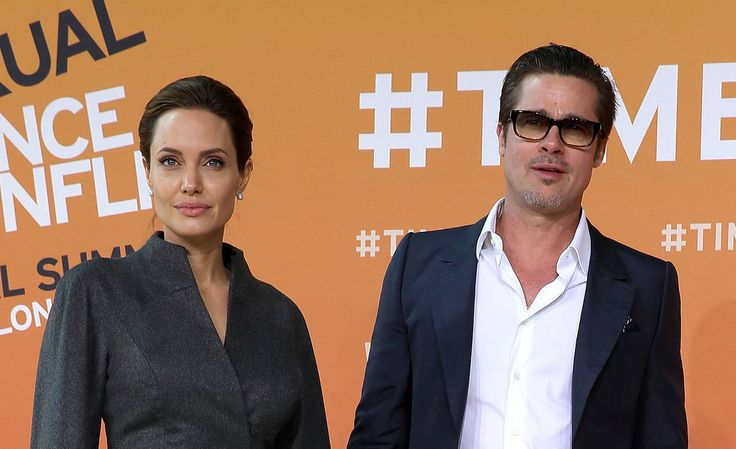 Angelina Keeps Brad Close at Her Global Summit: Angelina Jolie had fiancé Brad Pitt's support two days in a row at the Global Summit to End Sexual Violence in Conflict in London.