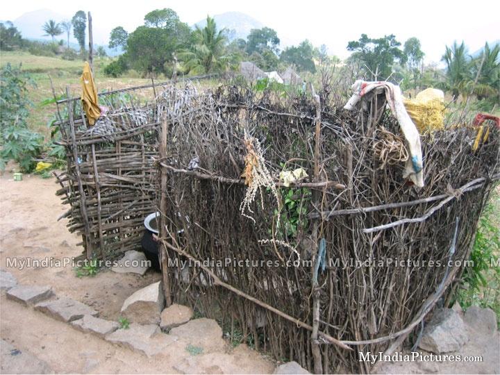 Indian village toilet video-4565