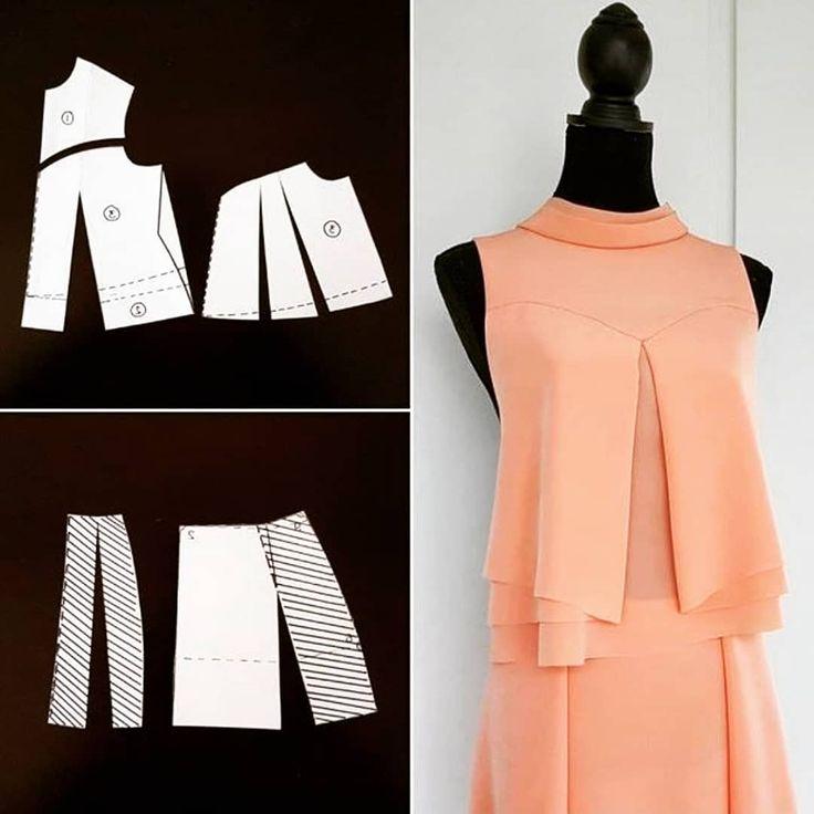 Необычные фасоны платьев выкройки пошаговое фото