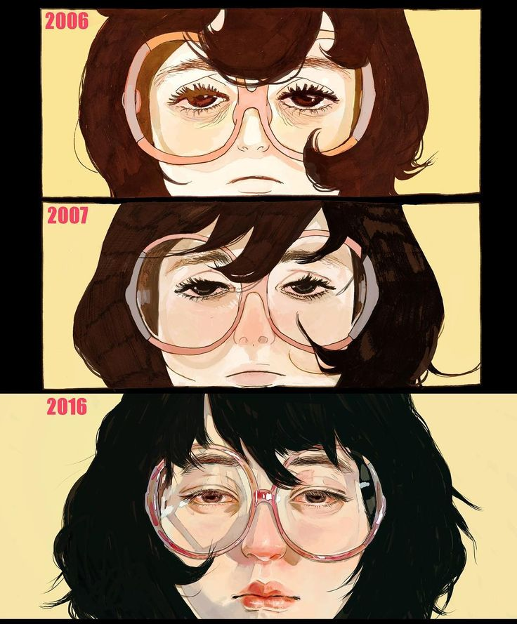 """""""06年我開始畫KYLOOE,畫咗二十幾頁覺得唔鍾意,由頭再畫過。 07年重畫嘅有少少唔同,今日又試下拎一格出嚟再重畫,有多多唔同,大概聽日再畫,都可以同今日好唔同,好玩。 #redraw #DrawThisAgain #KYLOOE"""""""