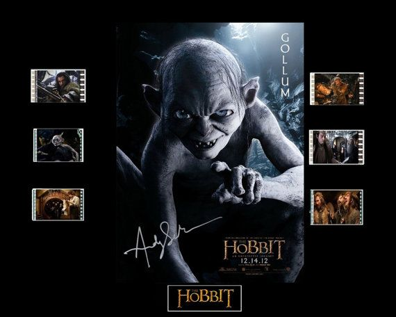 The Hobbit Film Cell Presentation  Gollum by Everythingbutthatcom, £9.99