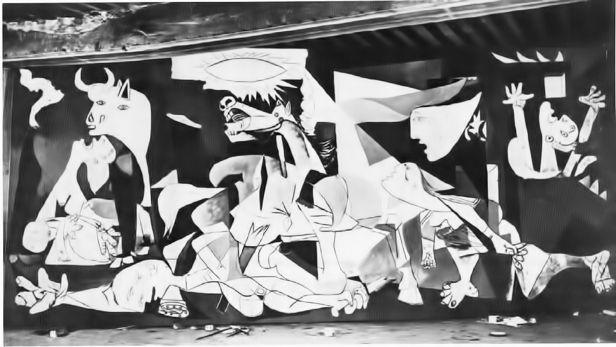 Guernica - Picasso - Fase 5