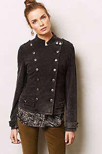 Anthropologie - Knit Military Jacket