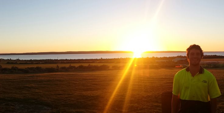 This is taken from the back door of my Parents house, get to see some pretty awesome sunsets. www.living-happy.org