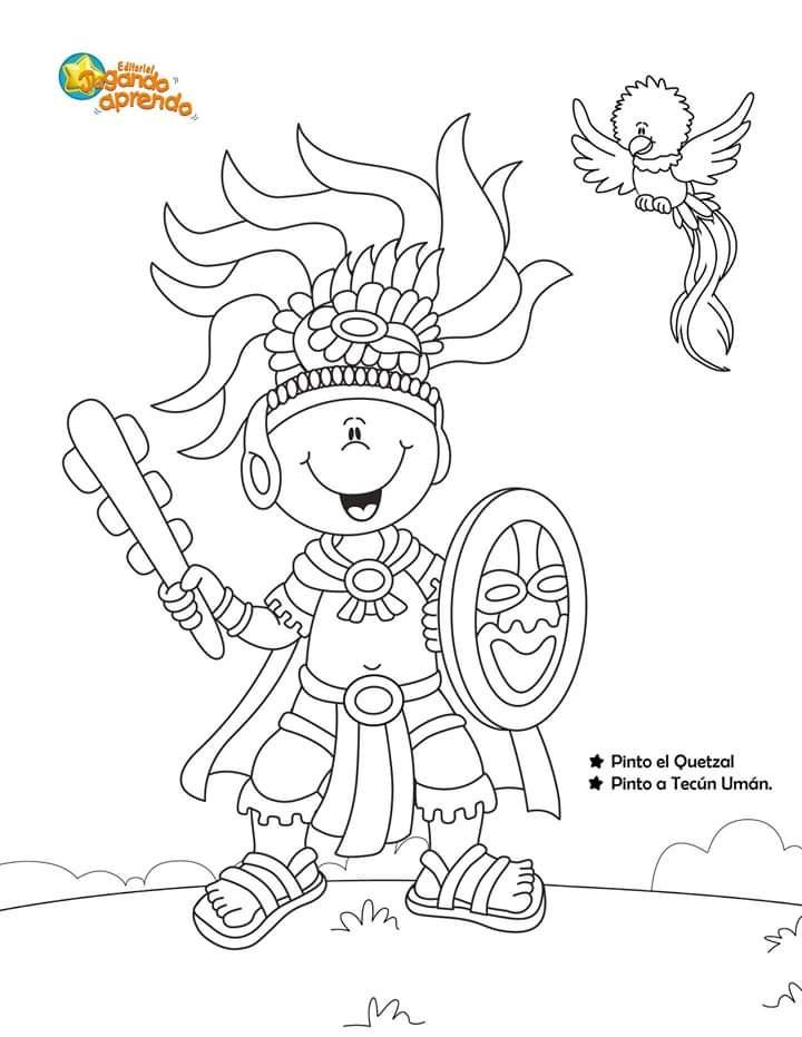 Listado De Tareas Actividades Goclases In 2020 Preschool Guatemala Character