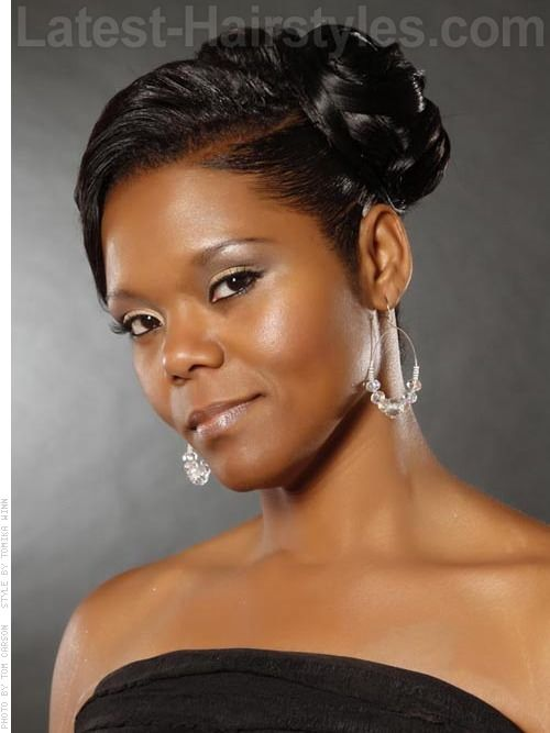 African American Wedding Ceremony Hairstyles That Dazzle