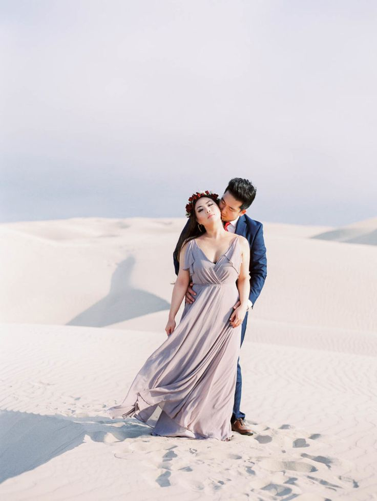affordable wedding photographers in los angeles%0A Santa Barbara Sand Dune engagement session overlooking the beautiful ocean   Shot by Lucy Munoz Photography  professional wedding photographer