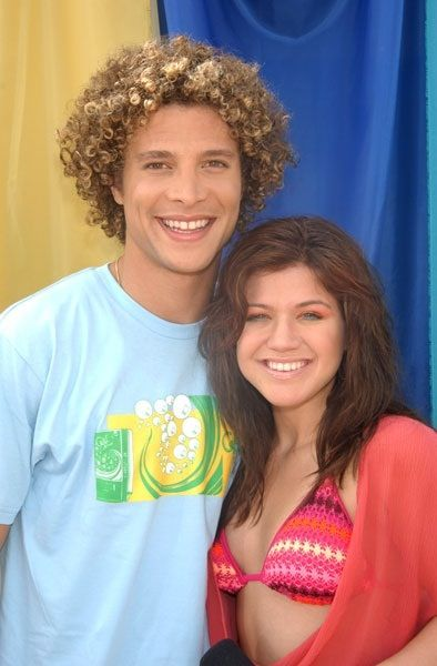 Kelly Clarkson and Justin Guarini