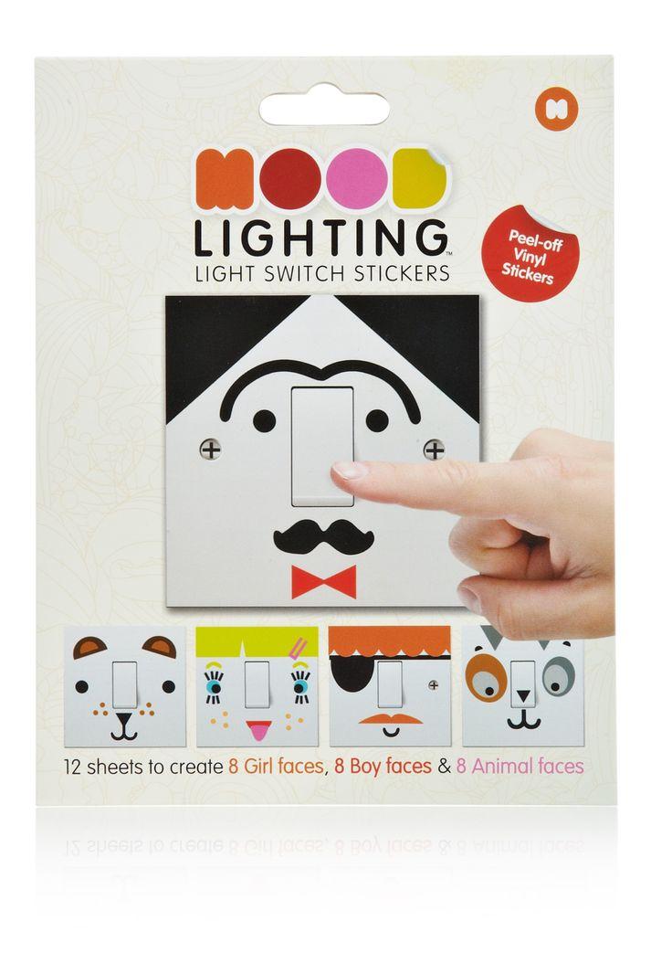 Mood Lighting Switch Stickers