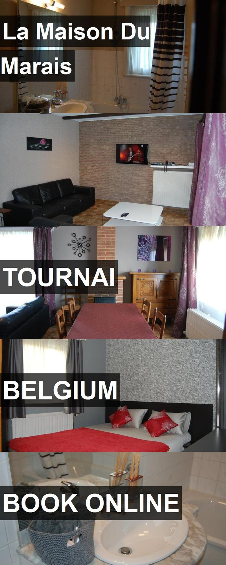 Hotel La Maison Du Marais in Tournai, Belgium. For more information, photos, reviews and best prices please follow the link. #Belgium #Tournai #travel #vacation #hotel