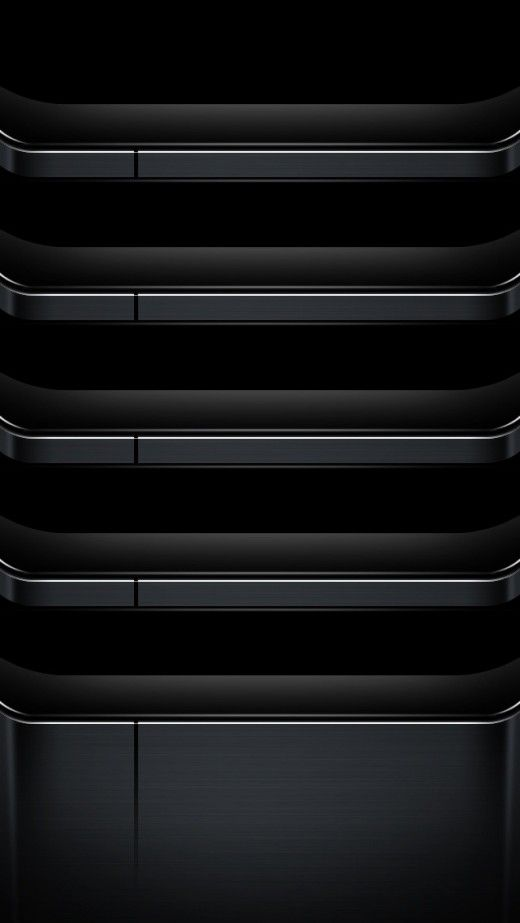 Metallic Dark Shelves IPhone 5s Wallpaper Click For Original Size